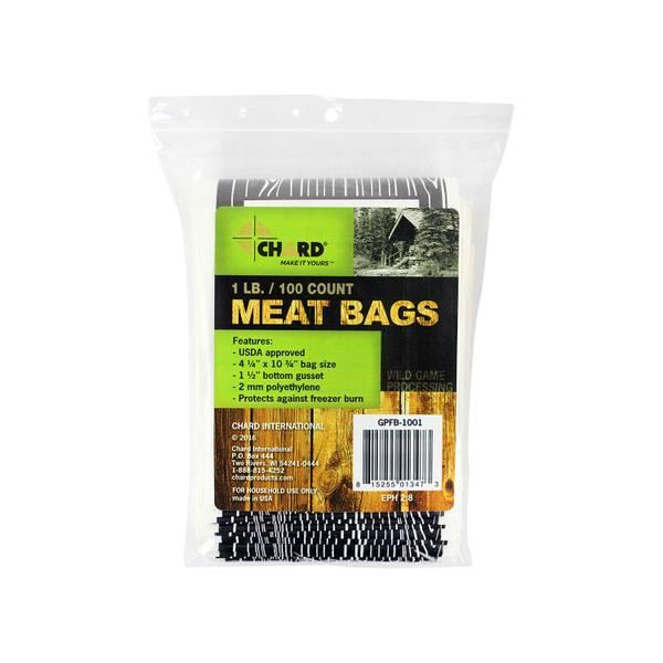 Wild Game Freezer Bags