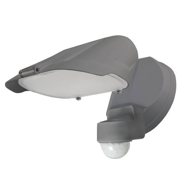 Gray Motion LED 5500 Lumen Flood Light