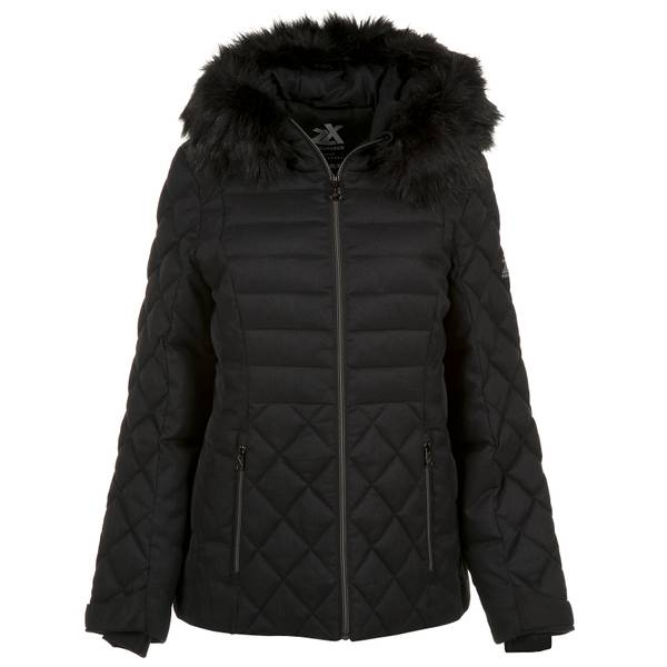 Women's Sabrina Synthetic Wool Hooded Jacket