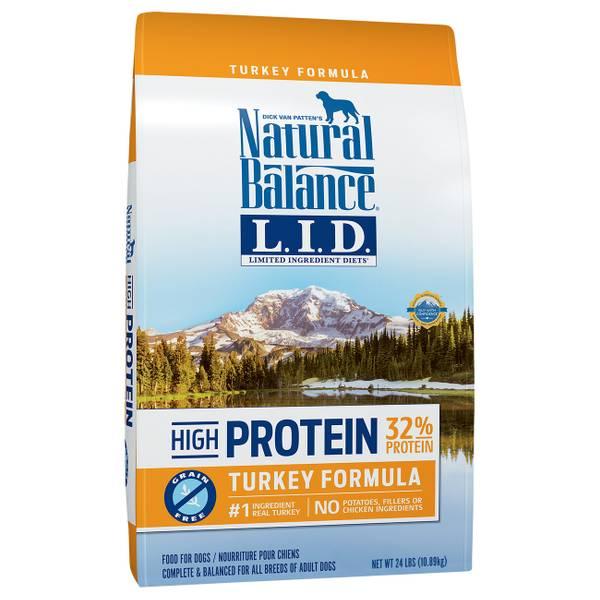 High Protein Turkey Formula Dry Dog Food