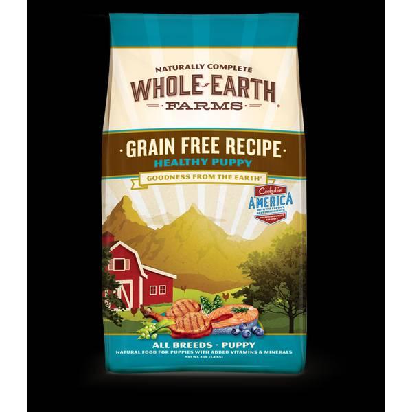 4 lb Grain Free Recipe Healthy Puppy Food