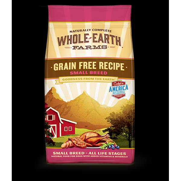 4 lb Grain Free Small Breed Chicken & Turkey Recipe Dog Food