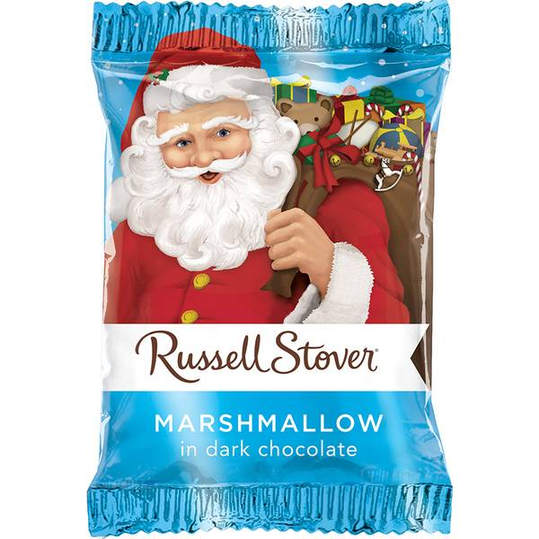 Dark Chocolate Marshmallow Santa
