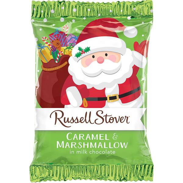 Milk Chocolate Marshmallow Caramel santa