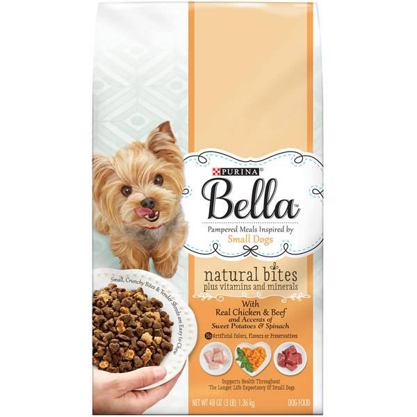 Bella Natural Bites With Real Chicken & Beef