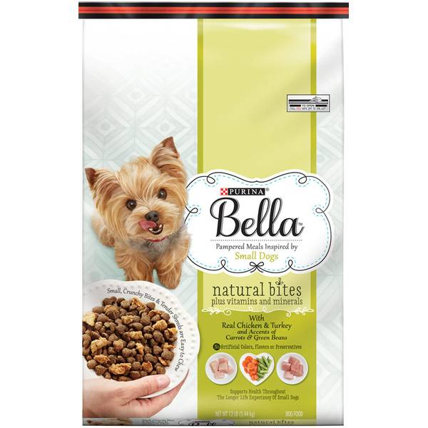 Bella Natural Bites With Real Chicken & Turkey