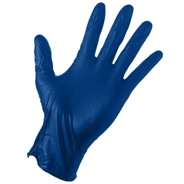 Large Heavy Duty Protective Latex Gloves - 50 Pack