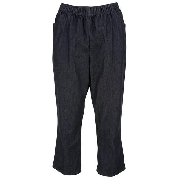 Misses Stretch Pull-On Capri Pants