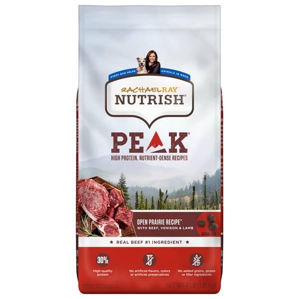 PEAK Open Range Recipe Beef & Venison Dog Food