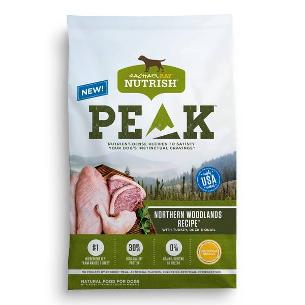 PEAK Woodlands Recipe Turkey & Duck Dog Food