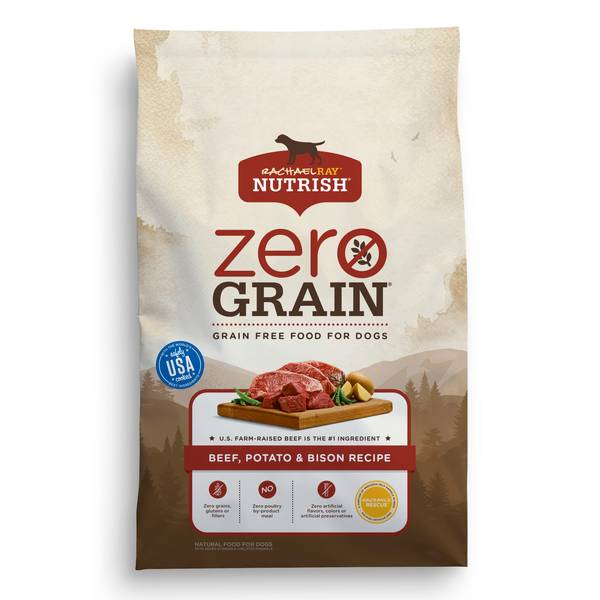 Zero Grain Recipe Beef & Bison Dog Food