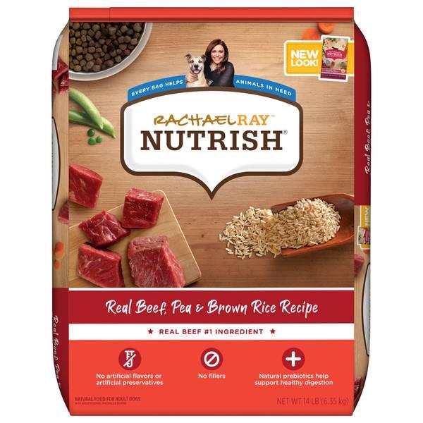 Real Beef & Brown Rice Recipe Dog Food