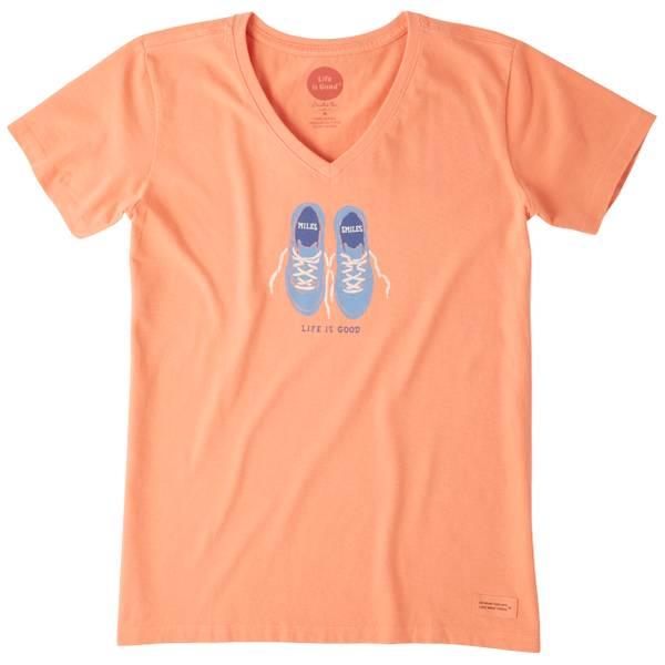 Women's Miles & Smiles Crusher Vee T-Shirt