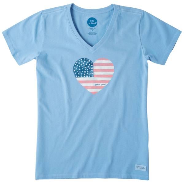Women's Americana Love Crusher Vee T-Shirt