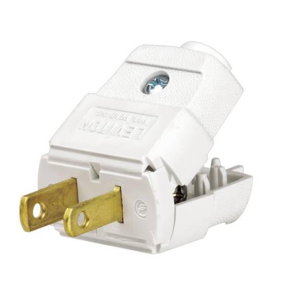 Leviton 2 Pole Light Duty Plug
