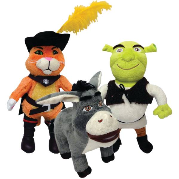Shrek Plush Dog Toy Assortment