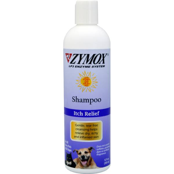 Enzymatic Shampoo for Itchy Inflamed Skin