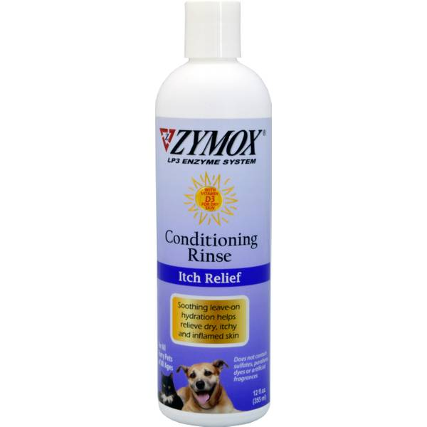 Enzymatic Conditioning Rinse for Itchy Inflamed Skin
