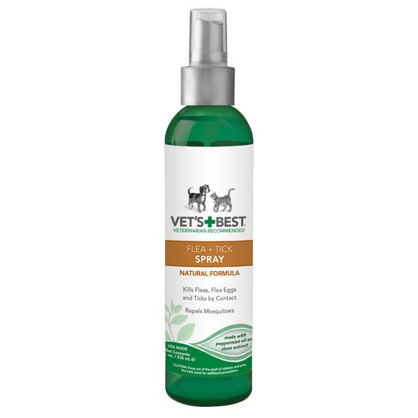 Natural Flea & Tick Pet Spray