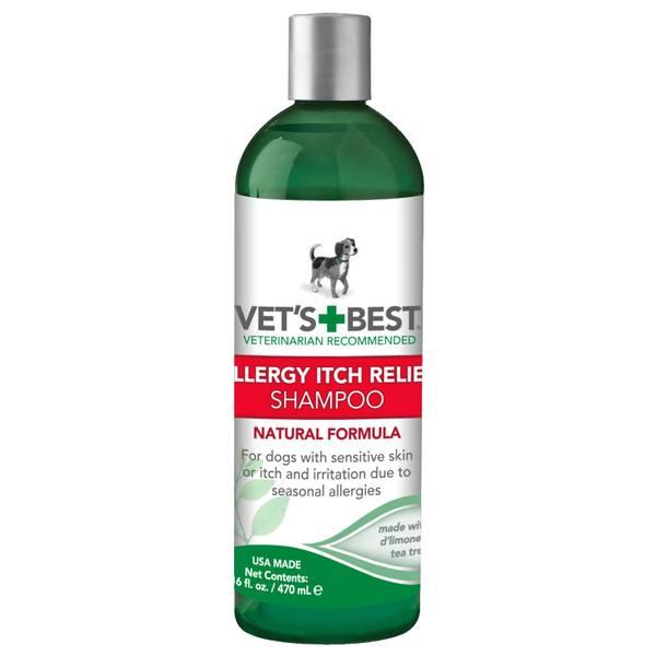 Allergy Itch Relief Dog Shampoo