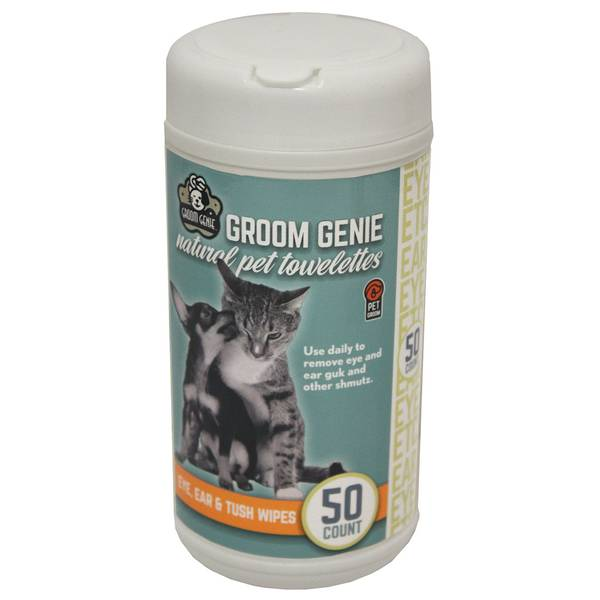 Groom Genie Sensitive Canister Wipes