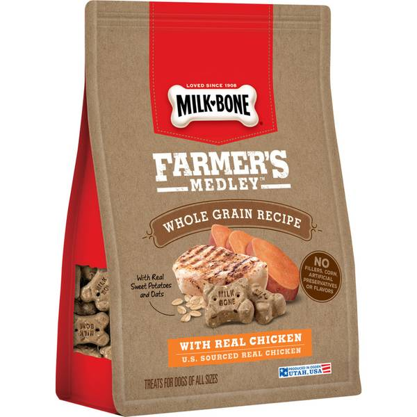 Farmer's Medley 12 oz Whole Grain Chicken Dog Treats