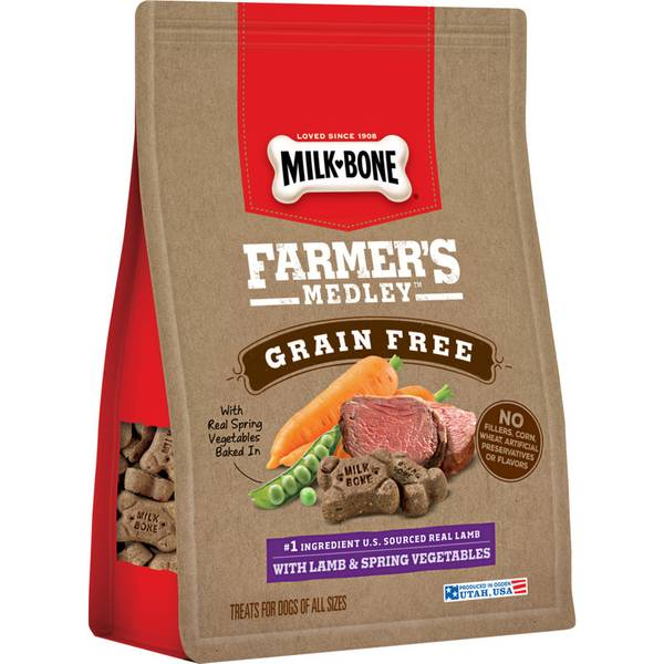 Farmer's Medley 12 oz Grain-Free Lamb Dog Treats