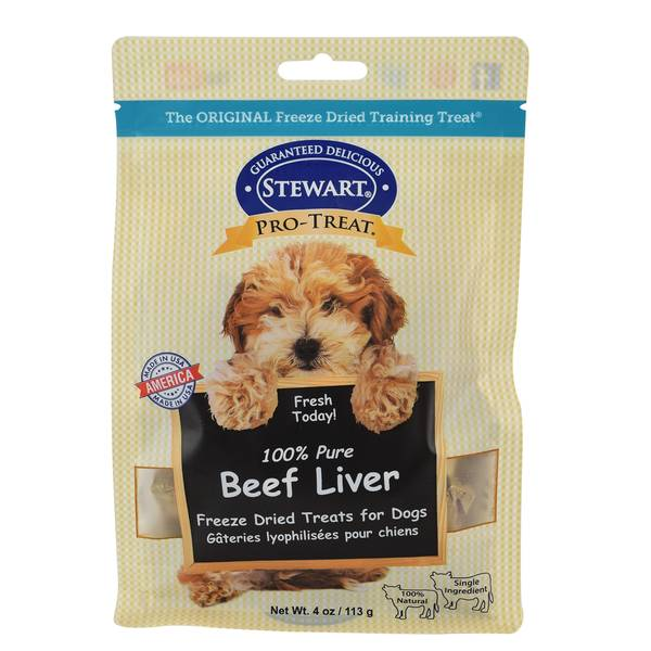 100% Pure Beef Liver Freeze Dried Treats for Dogs