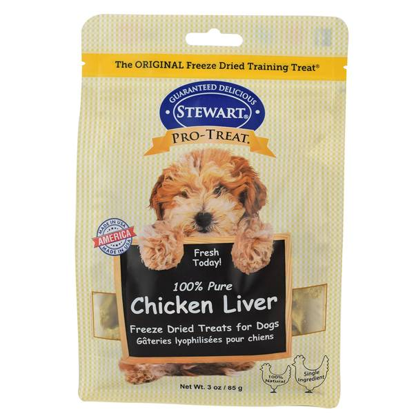 100% Pure Chicken Liver Freeze Dried Treats for Dogs