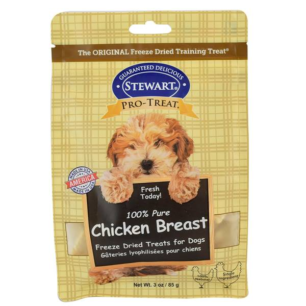 100% Pure Chicken Breast Freeze Dried Treats for Dogs