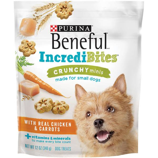 Beneful 12 oz IncrediBites Minis Dog Treats