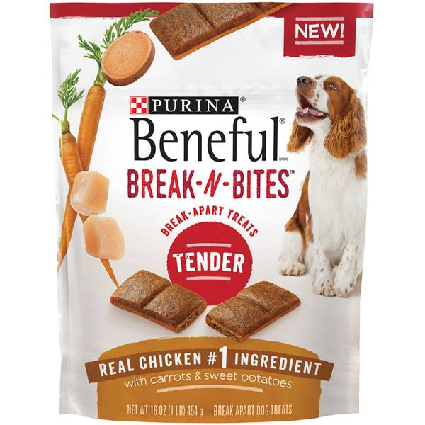 Beneful 16 oz Break-N-Bites Dog Treats