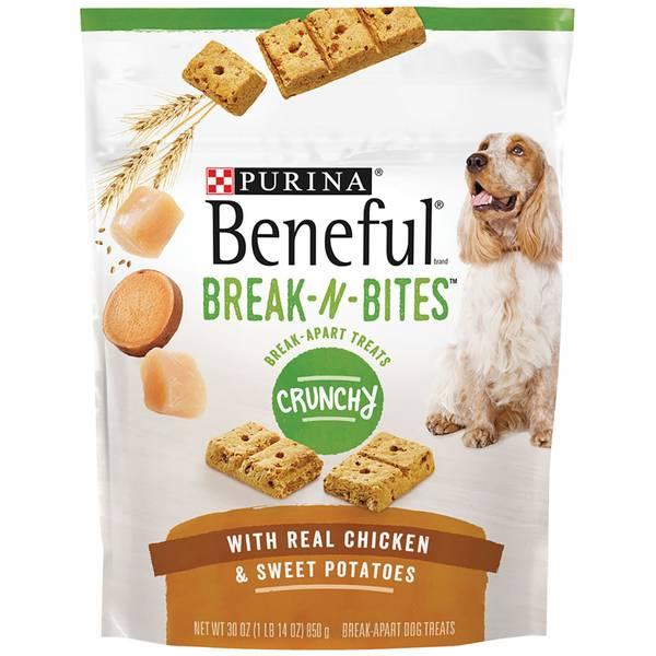 Beneful 30 oz Break-N-Bites Dog Treats