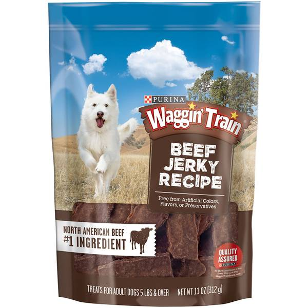 11 oz Waggin Train Beef Jerky
