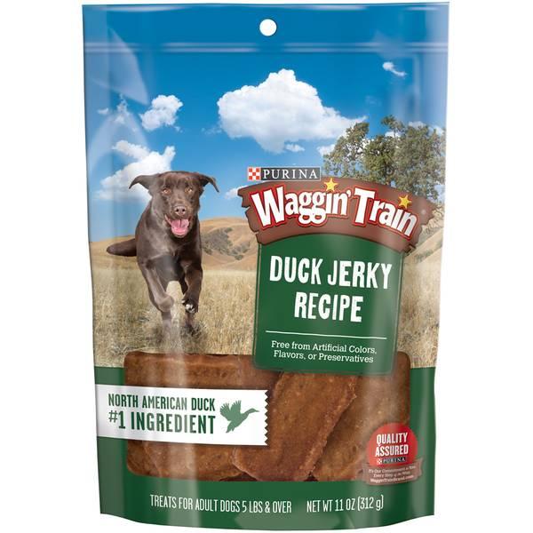 11 oz Waggin Train Duck Jerky Dog Treats