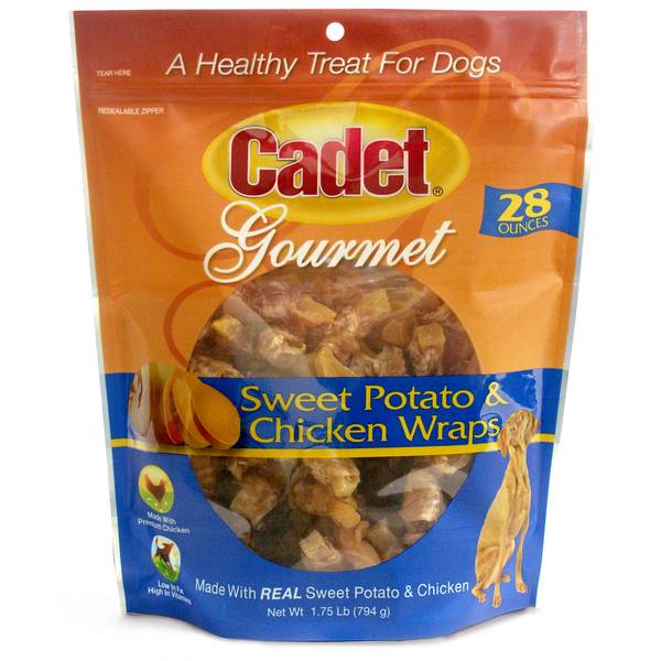 28 oz Chicken & Sweet Potato Wraps Dog Treats