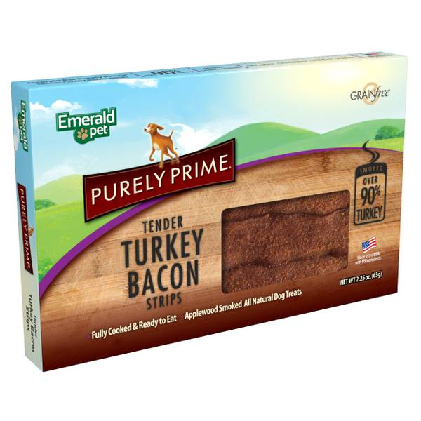 2.25 oz Bacon Original Turkey Dog Treats