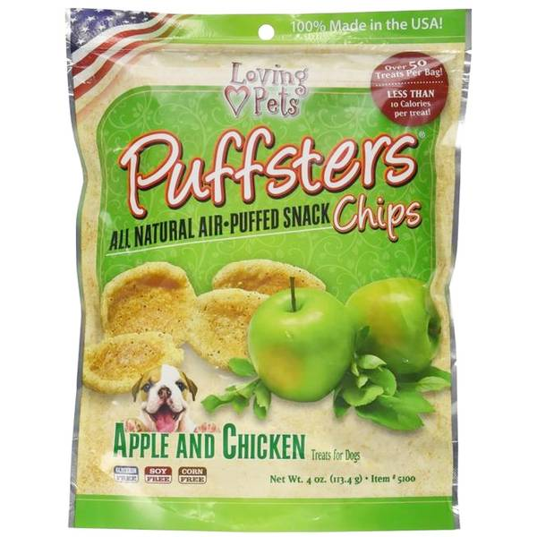 Puffsters Dog Chips