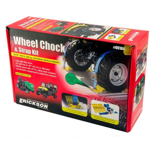 ATV Wheel Chock & Strap Kit