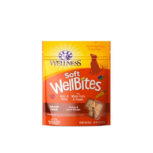 6 oz Wellbites Turkey & Duck Dog Treats