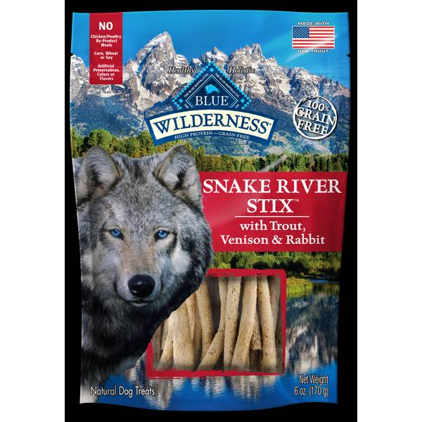 Wilderness 6 oz Snake River Grill Stix Dog Treats