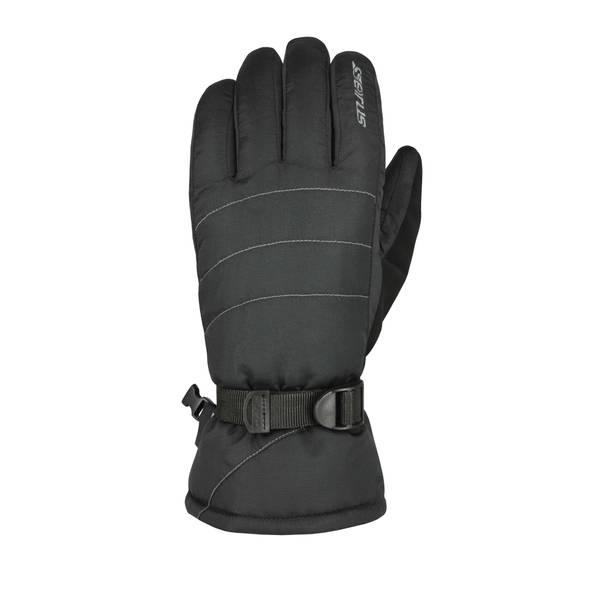 Men's Black Stitch Gloves