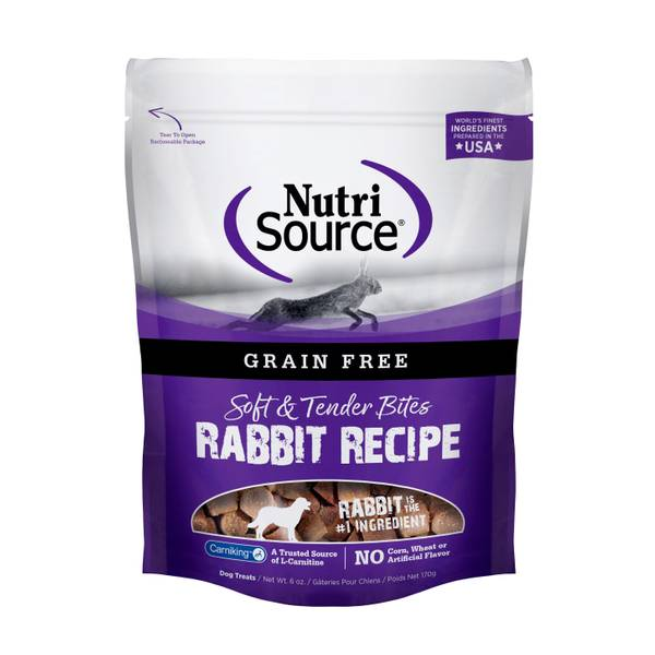 6 oz Grain Free Rabbit Bites
