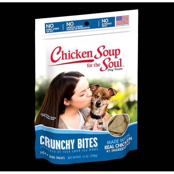 12 oz. Crunchy Bites Chicken Dog Treats