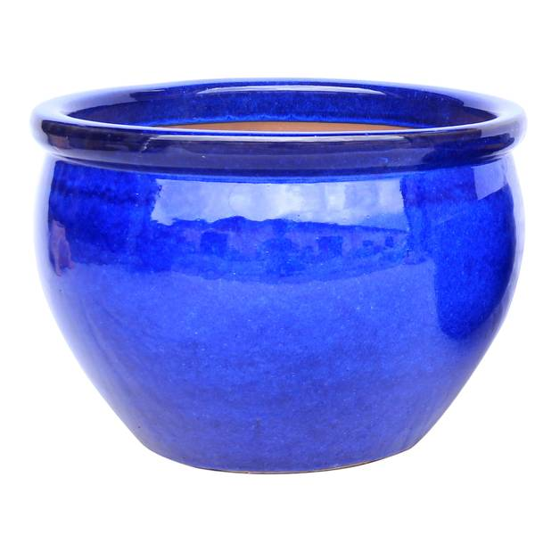 "9"" Blue Valles Planter"