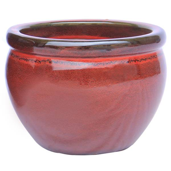 "9"" Red Valles Planter"
