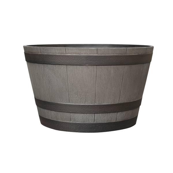 "22.5"" Whiskey Barrel Planter"