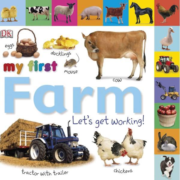 Tabbed Board Books My First Farm