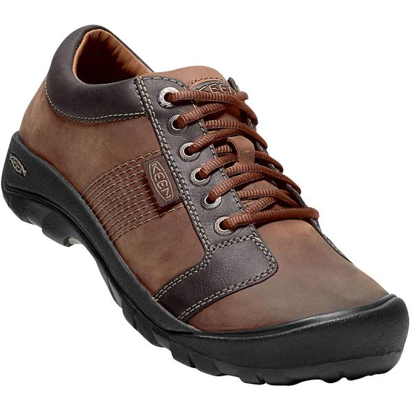 Men's Chocolate Brown Austin Shoes