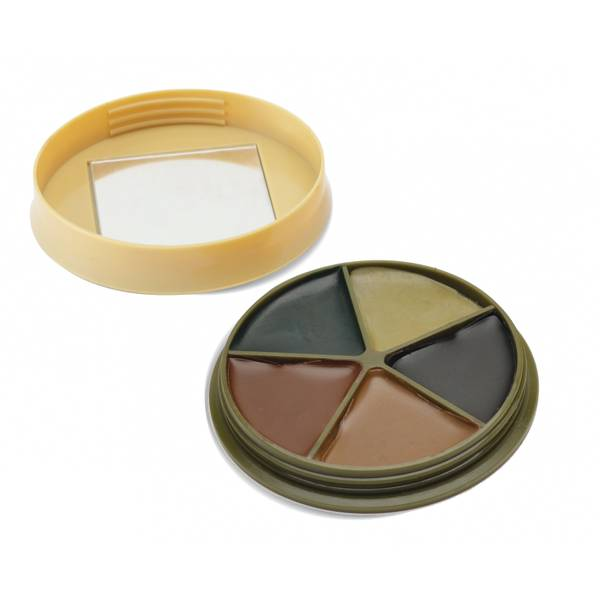 HME 5 Color Camouflage Face Paint Kit with Mirror thumbnail